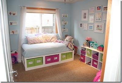 Ideas to inspire: Playroom with daybed storage
