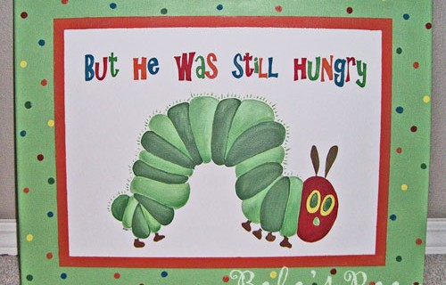 But he was still hungry!