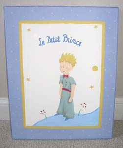 Le Petit Prince book cover painting